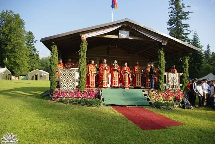 Liturghie la Nemtisor 2017